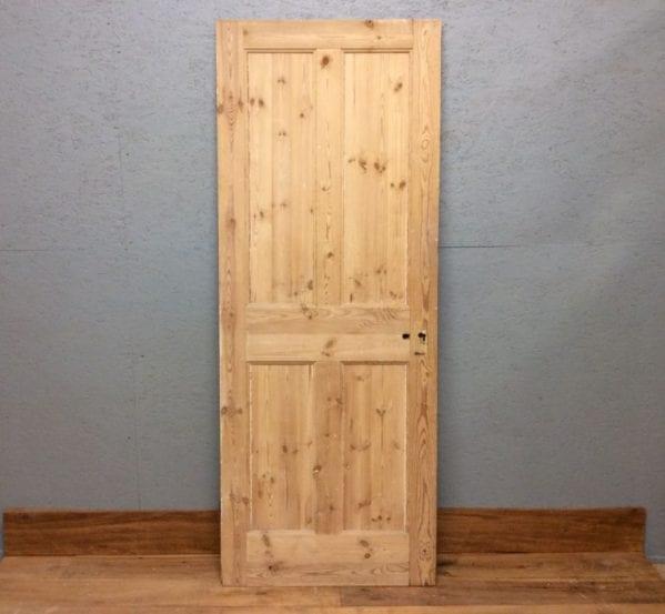 Taller Stripped 4 Panelled Door