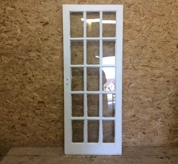15 Pane Fully Glazed Door