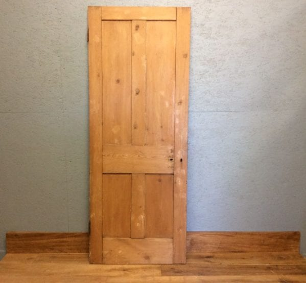 4 Panelled Door Stripped Natural