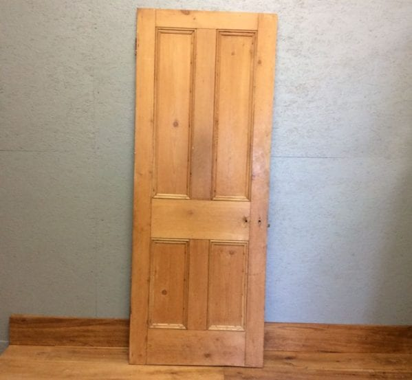 Natural Stripped 4 Panel Door