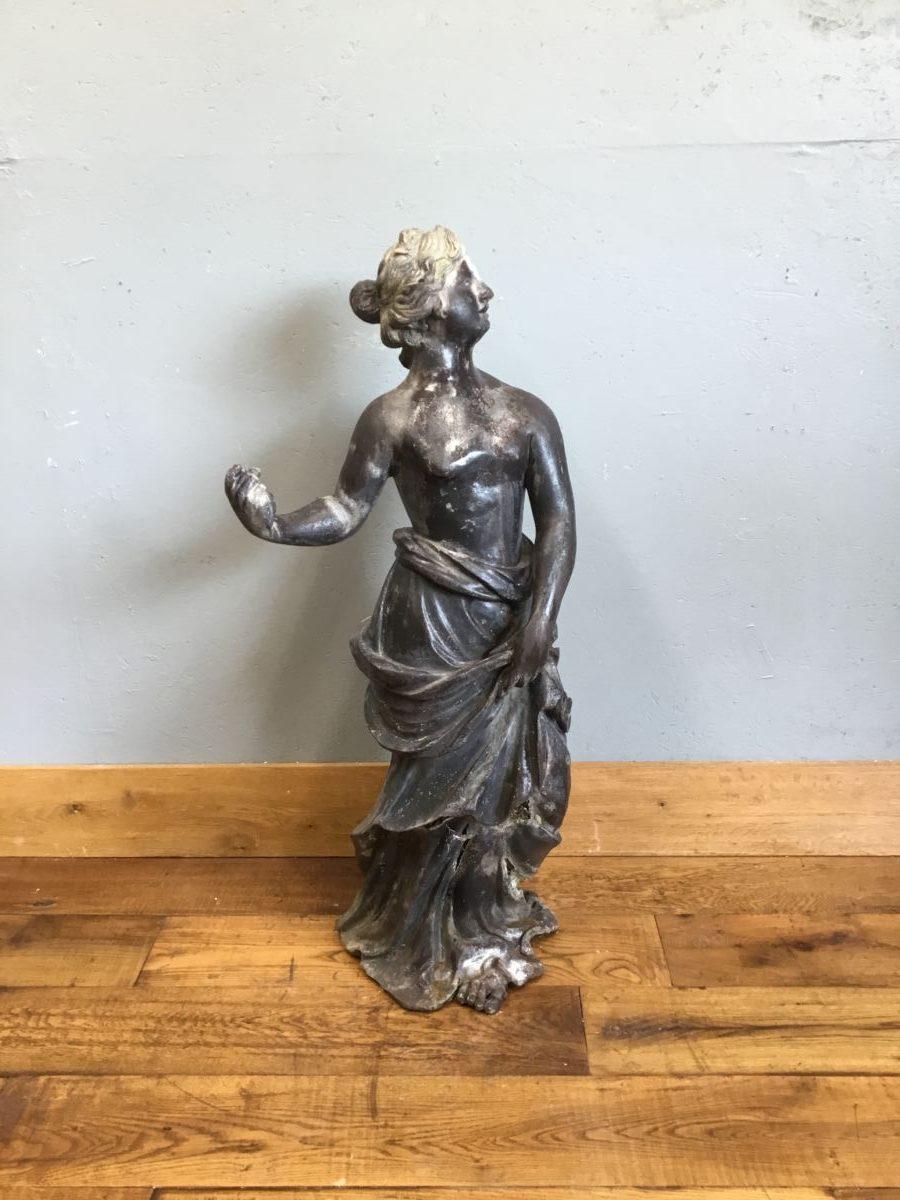 Lead Lady Statue