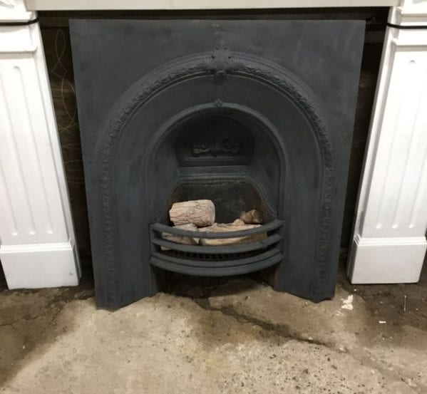 Black Large Fire Insert