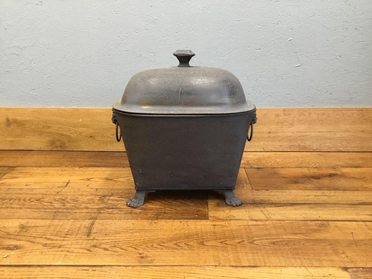 Coal Bucket & Lid
