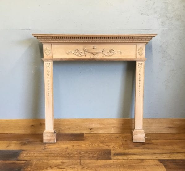 Carved Wood Fire Surround