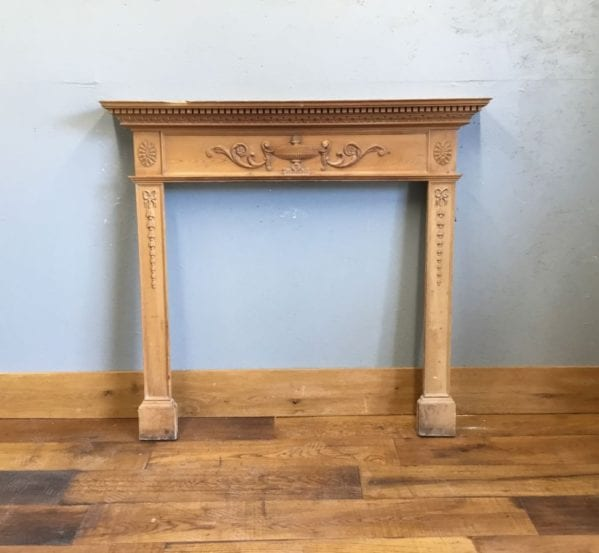 Fire Surround Ornate Detail