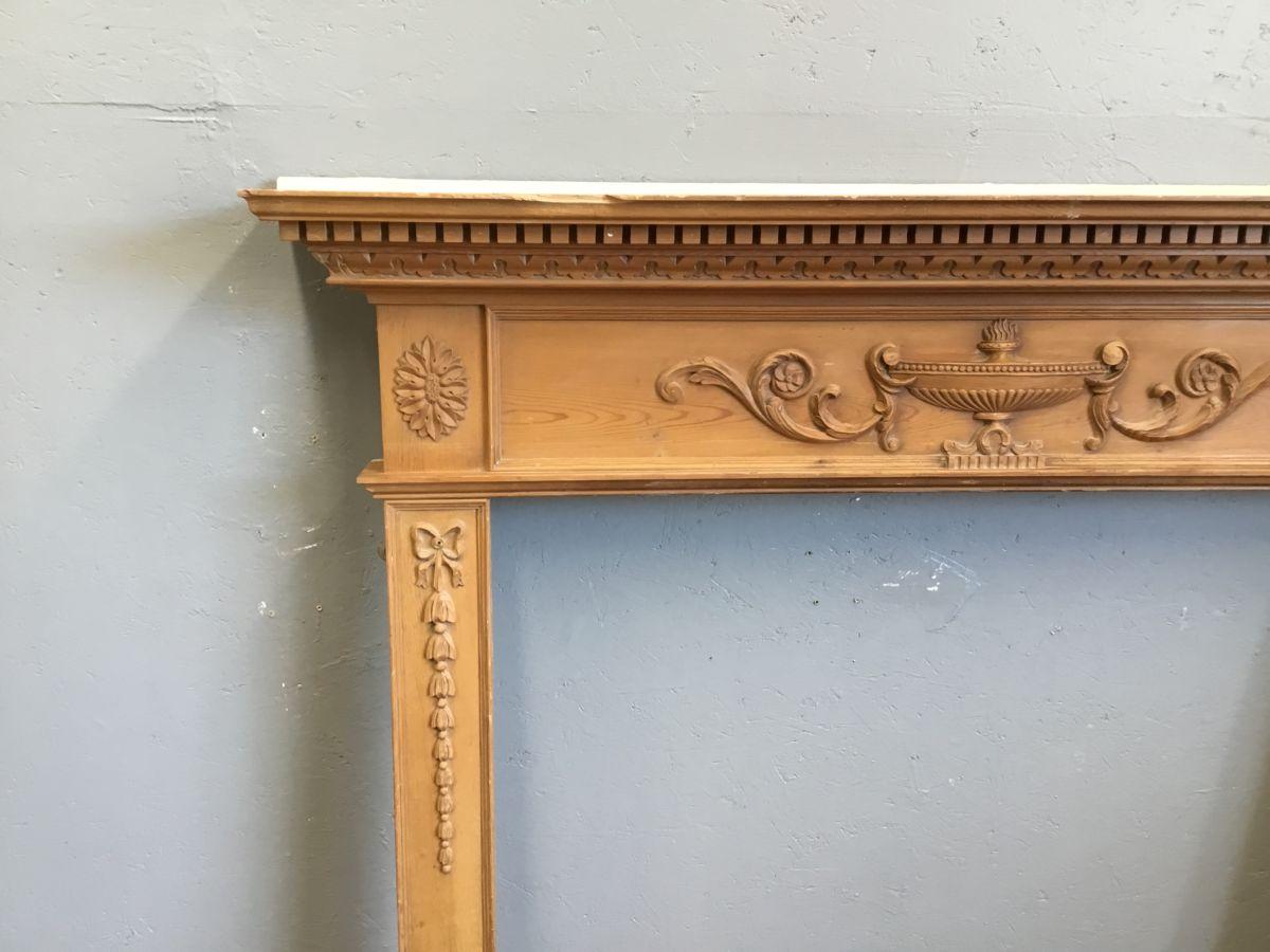 Fire Surround Ornate Detail