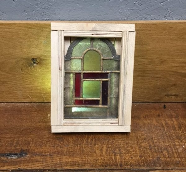 Tiny Frosted Glass Window