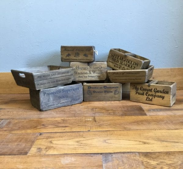 Printed Wooden Boxes