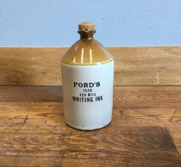 Ford's Salt Glazed Stoneware Bottle