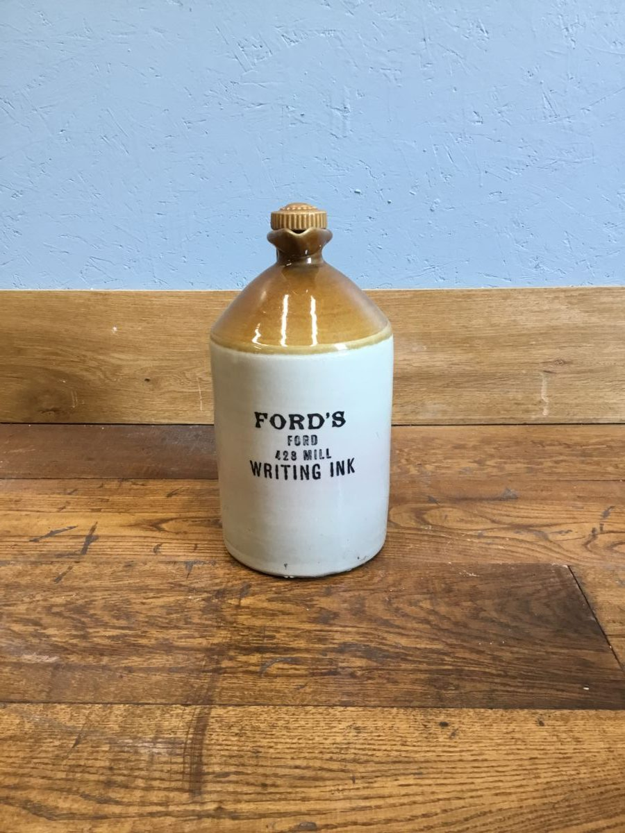 Ford's Salt Glazed Stoneware Bottle