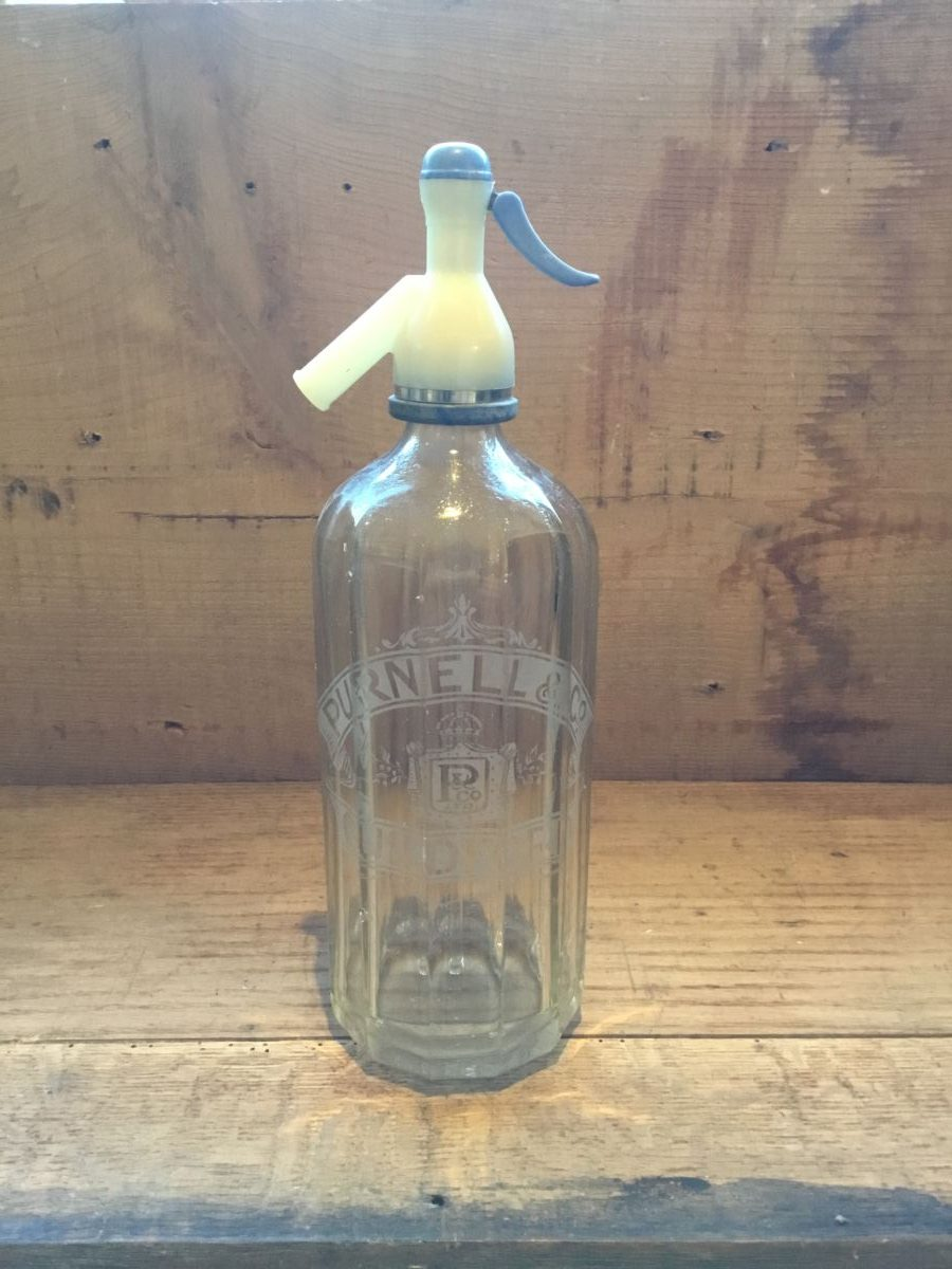 Purnell Glass Soda Syphon