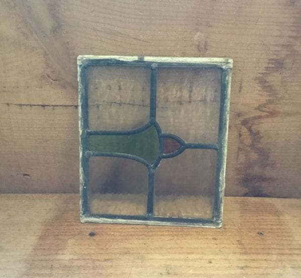 Small Single Leaded Stained Glass