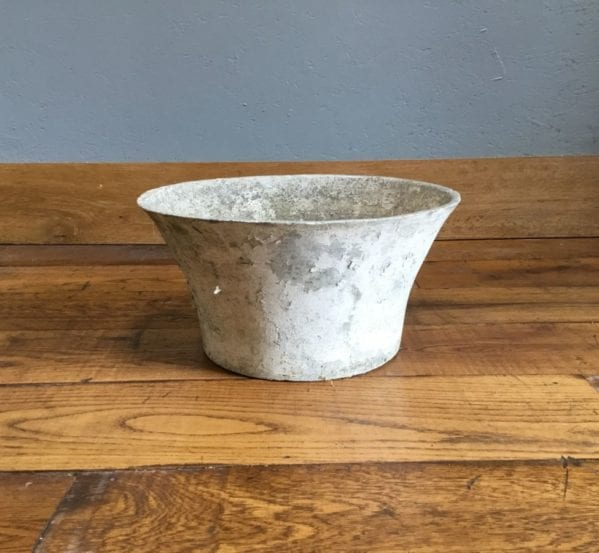 Wide Grey Pot
