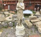 Lady & Draped Gown Statue
