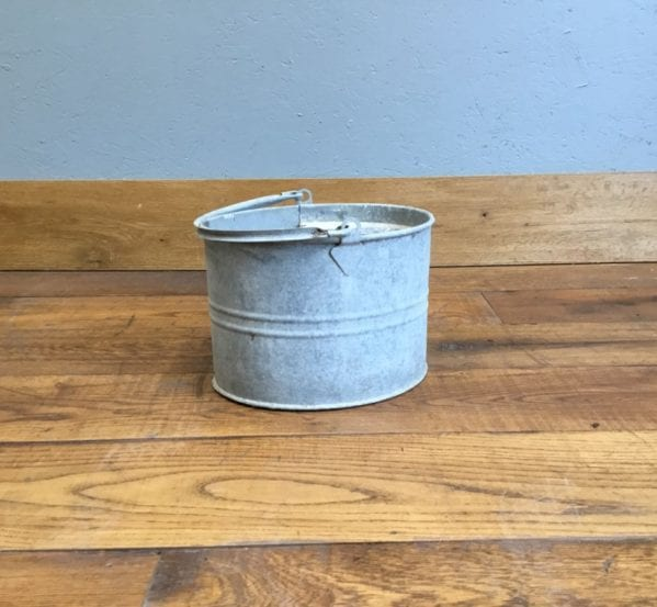 Tin Mop Bucket