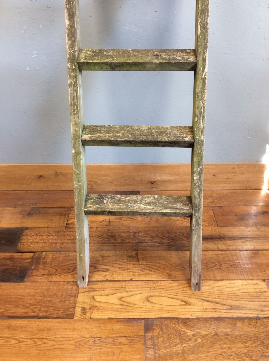 Wooden Garden Ladder