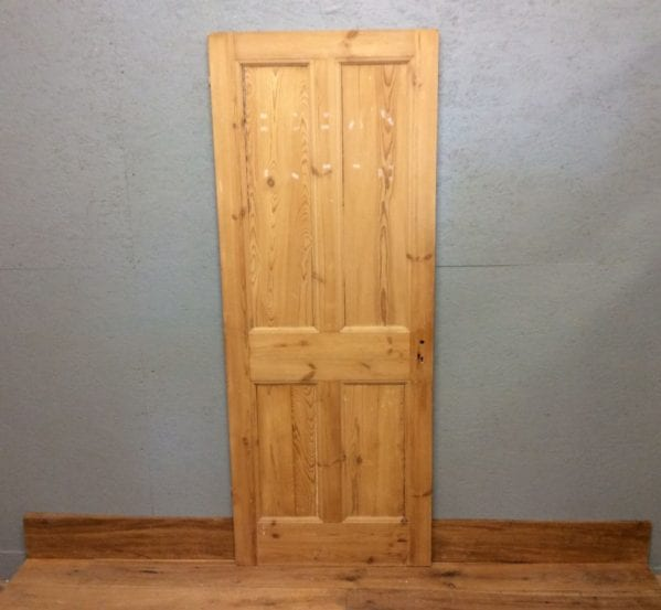 4 Panelled Stripped Fully Beaded Door