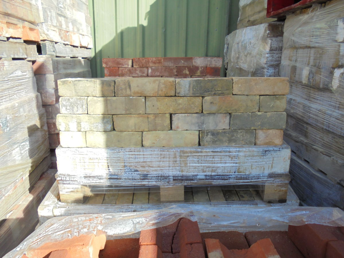 Yellow Face Handmade Bricks