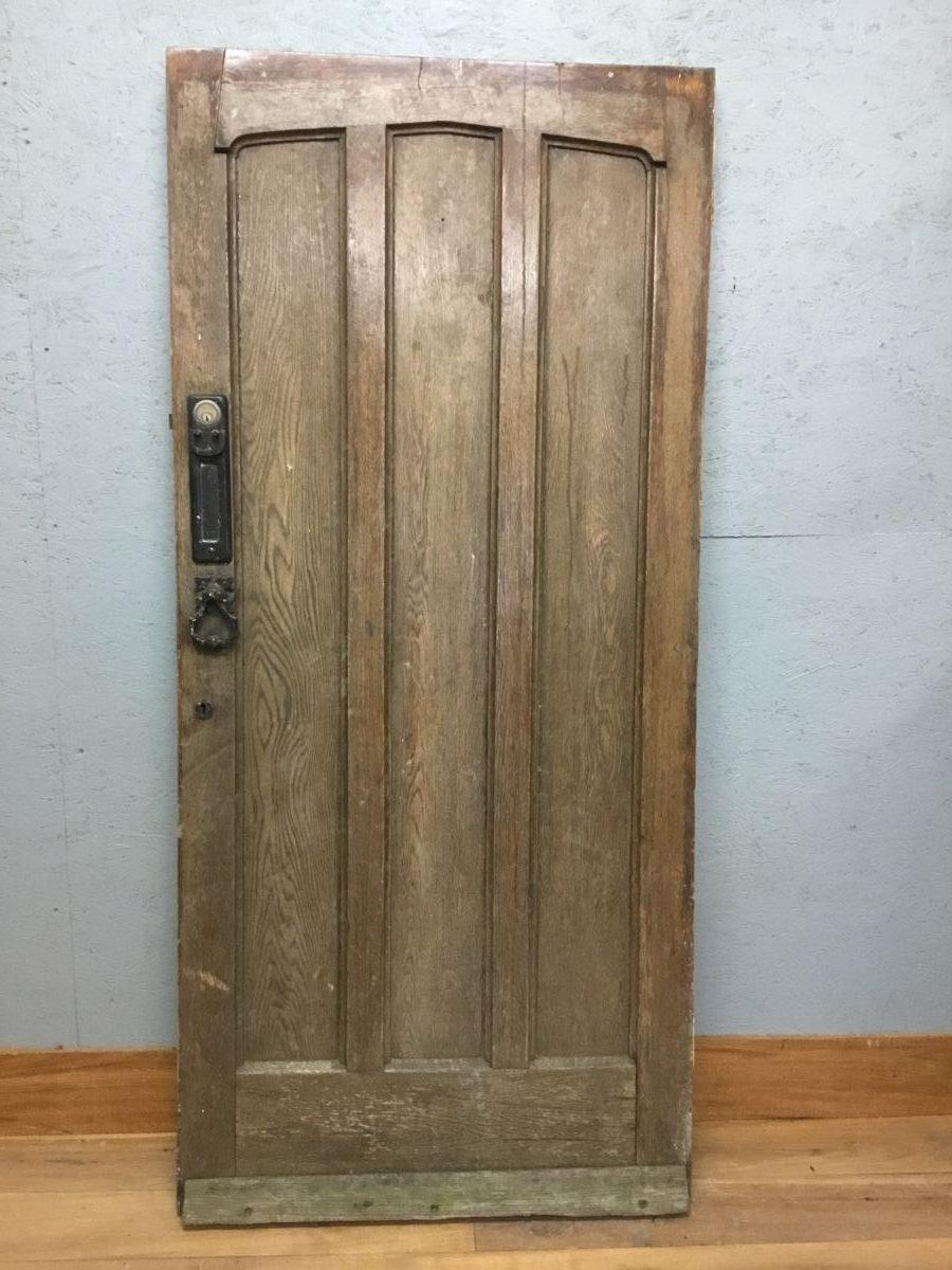 Reclaimed Ledged Front Door