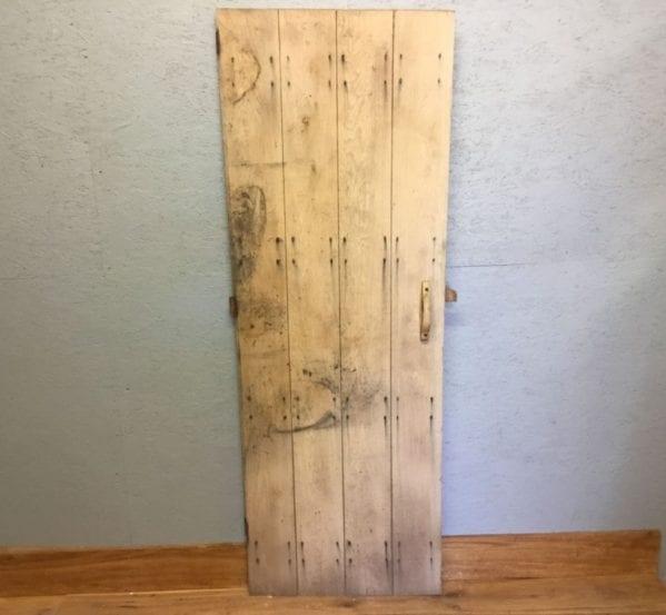 Stripped Reclaimed Ledge Door