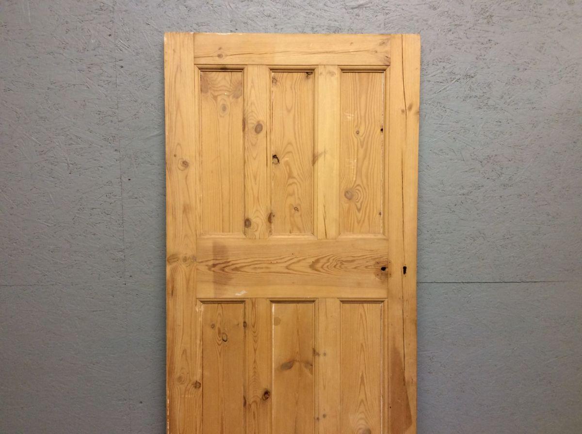 Stripped 6 Panelled 3 Over 3 Door