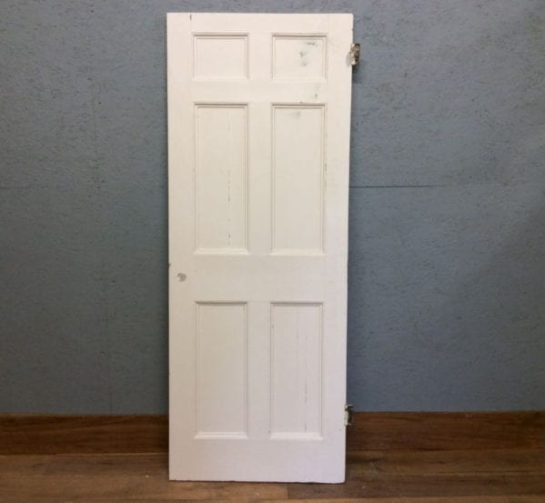 Small White 6 Panelled Door