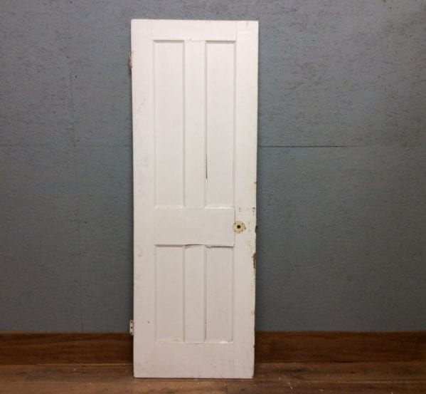 Small 4 Panelled Door White