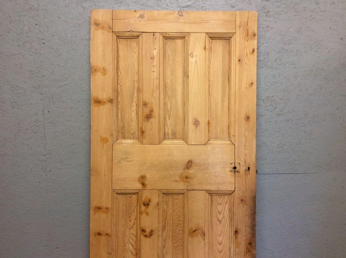 3 Over 3-5 Panelled Stripped Door