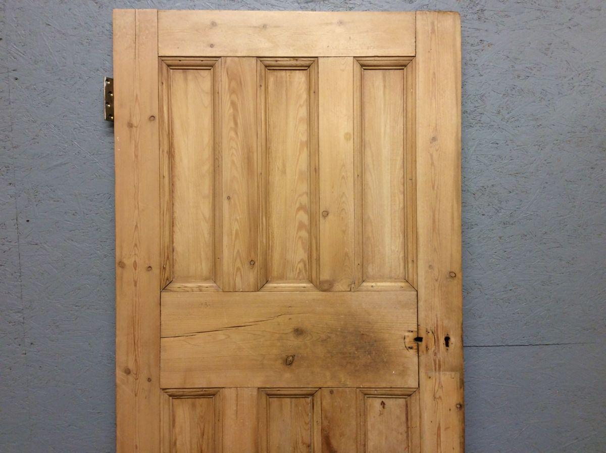 3 Over 3 Stripped Door
