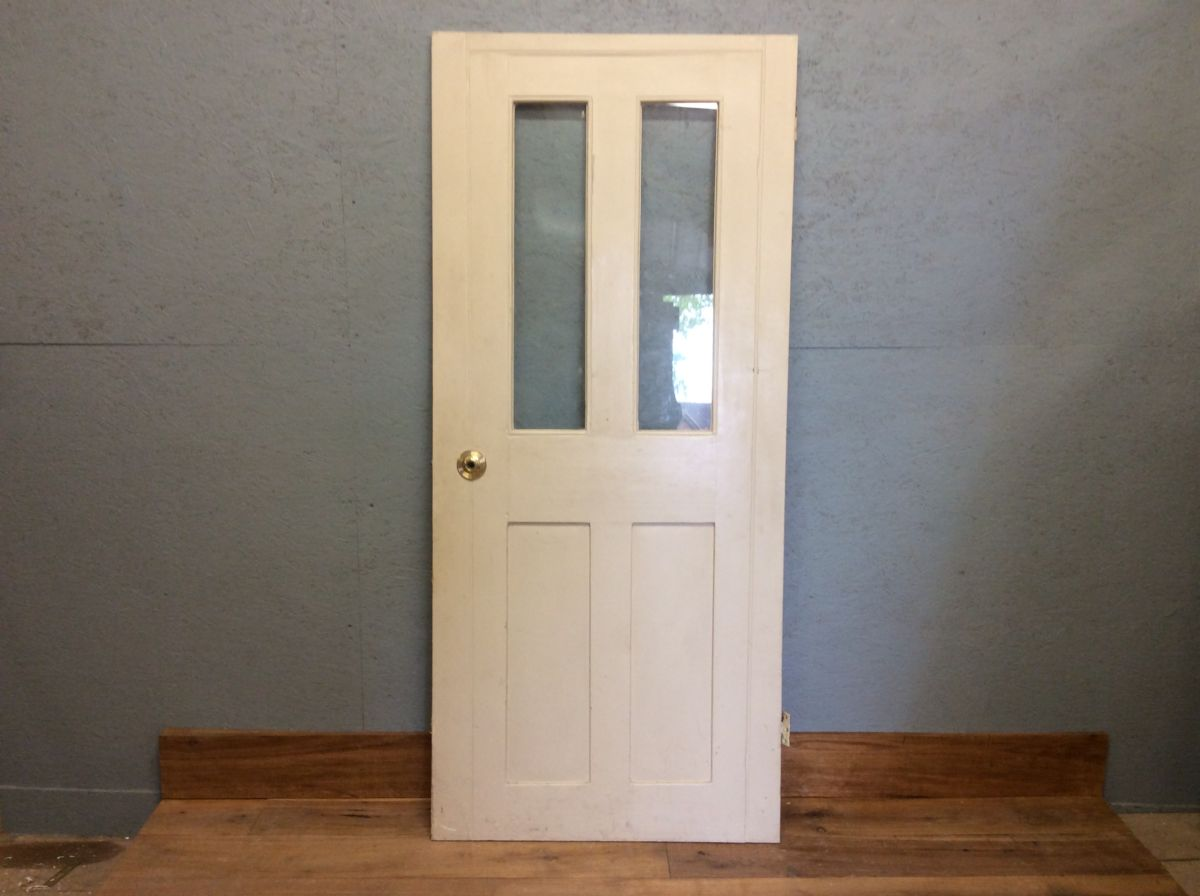 Half Glazed Wide Door