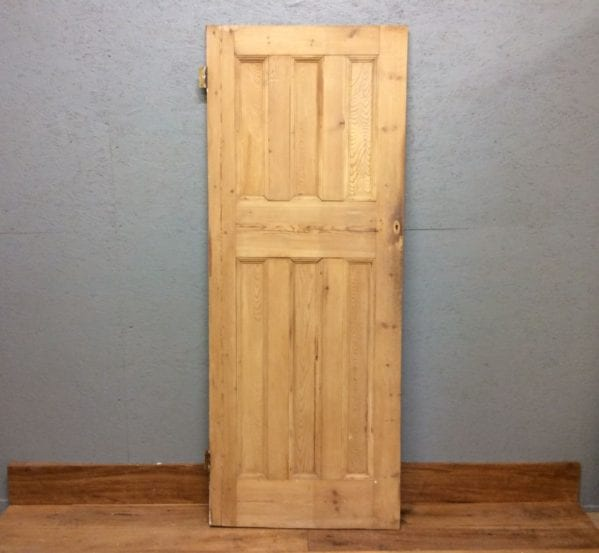 3 Over 3 Stripped 6 Panelled Door