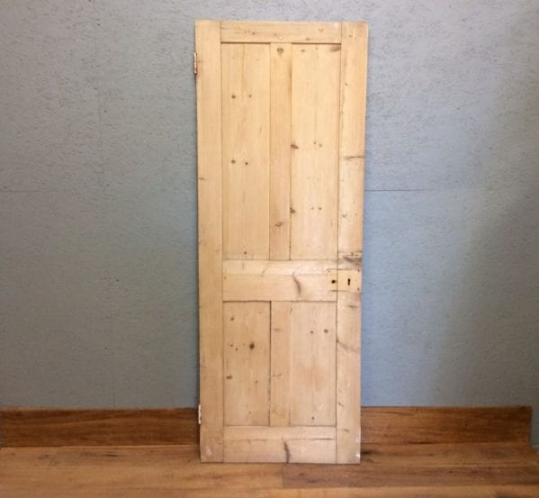 stripped Four Panelled door