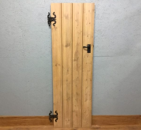 Stripped Ledge and Brace Reclaimed Door
