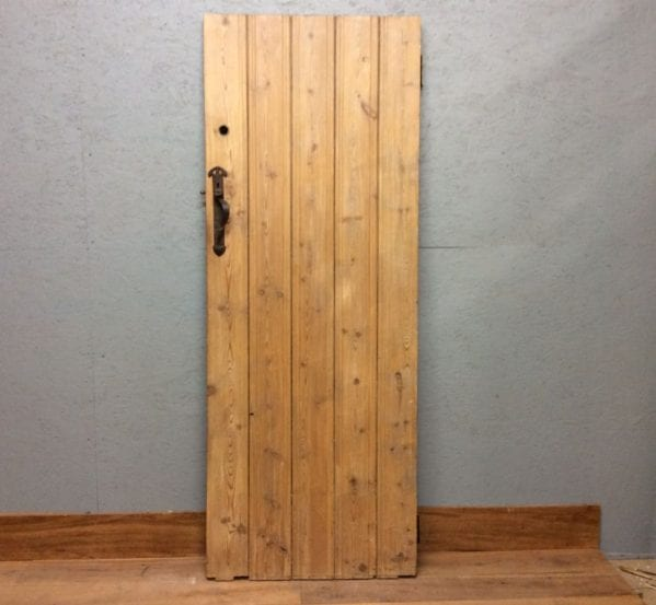 Ledge & Brace Large Pine Door