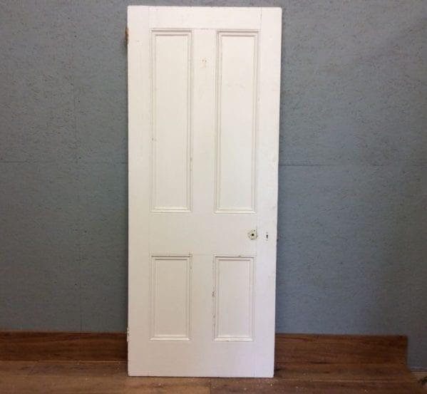 White Large 4 Panelled Doorr