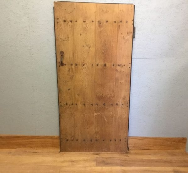 Studded Ledge Oak Reclaimed Door