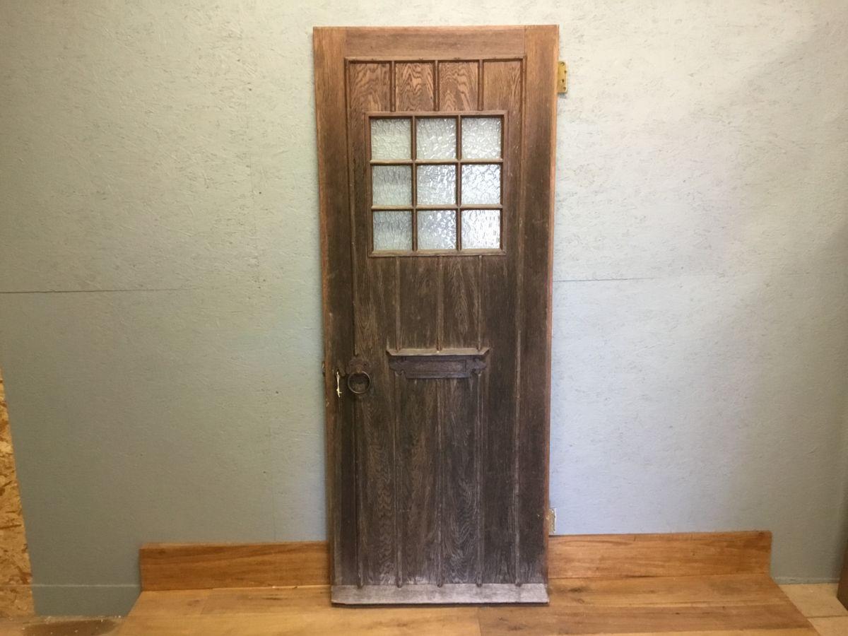 Reclaimed Oak Ledge Front Door