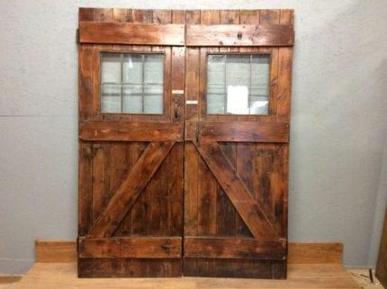 Lead Lined Half Glazed L & B Doors