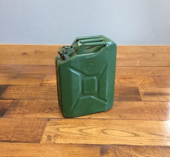 Green Jerry Can