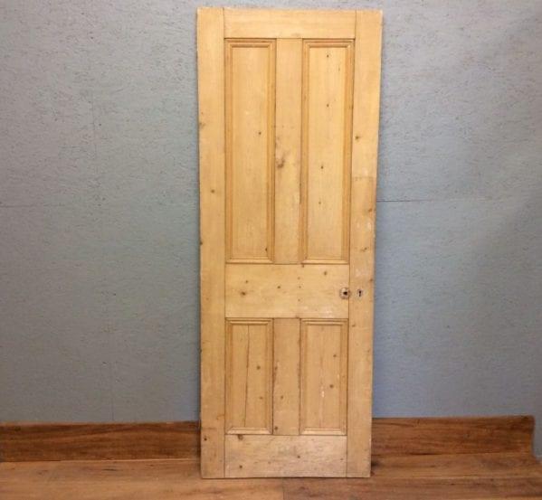Stripped 4 panelled Doorr