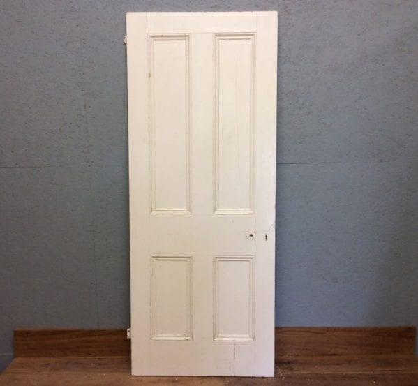 Large White 4 Panelled Doorr