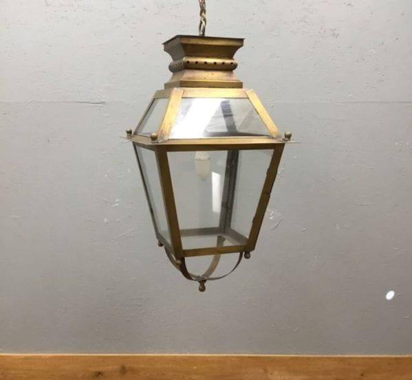Brass & Glass Pendant