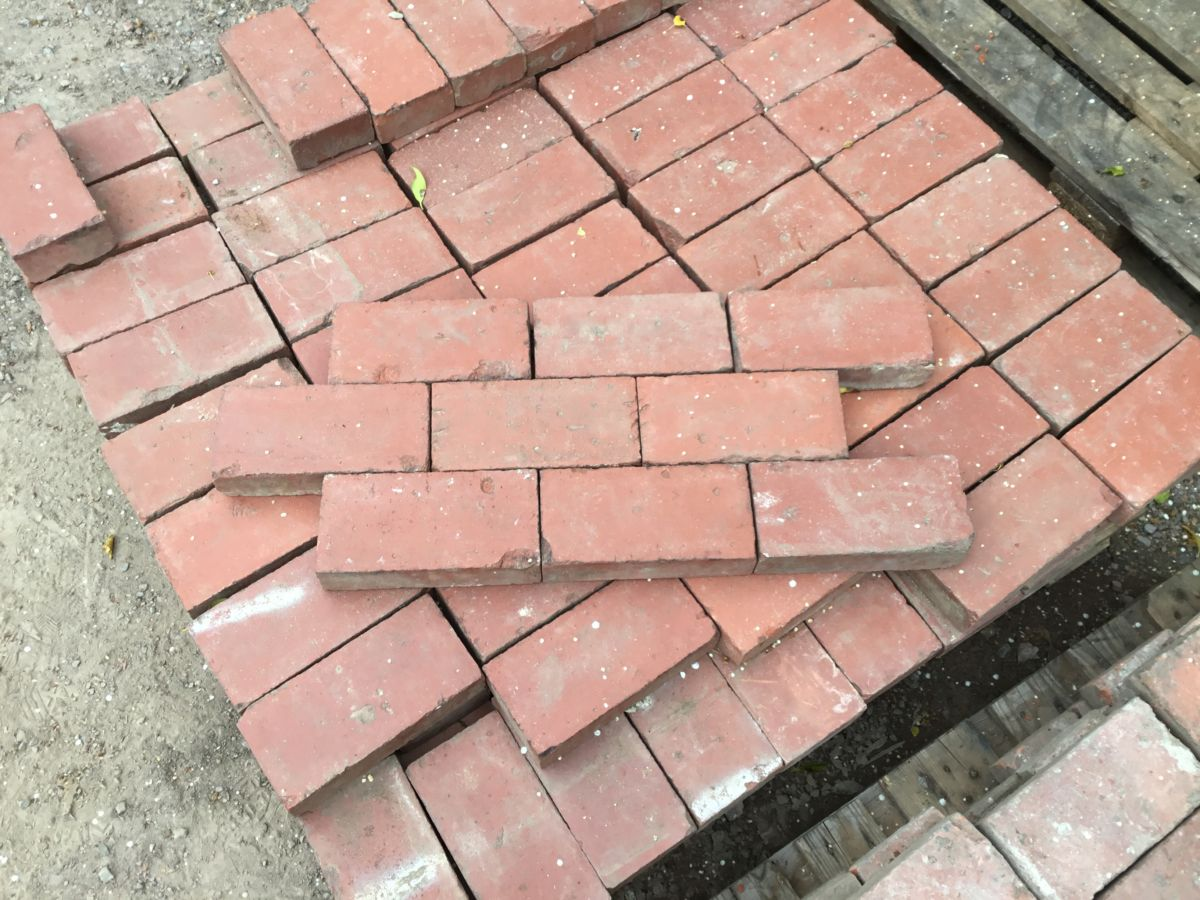 Red Victorian Paving Brick