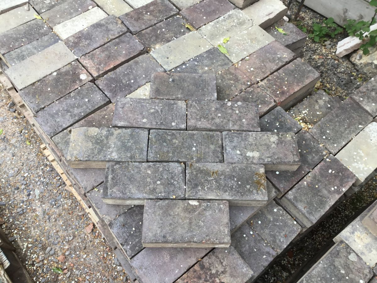 Dark Paving Bricks