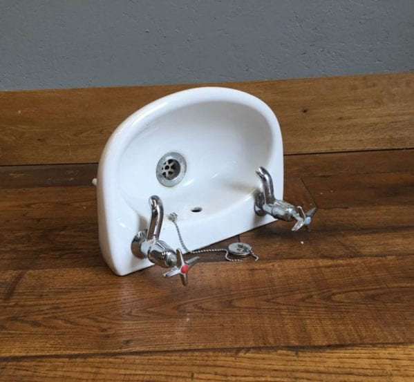 Really Small White Sink