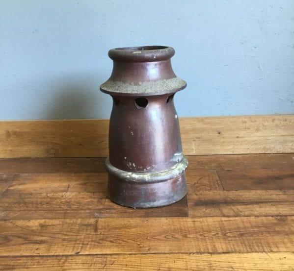 Dark Brown Chimney Pot