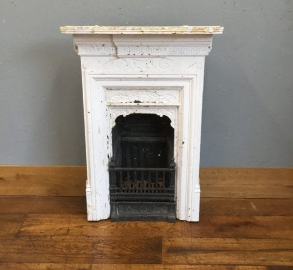 White & Black Fireplace