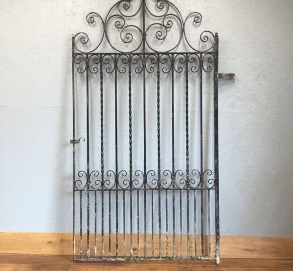 Huge Iron Scroll Gate