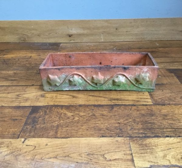 Terracotta Ivy Pattern Planter