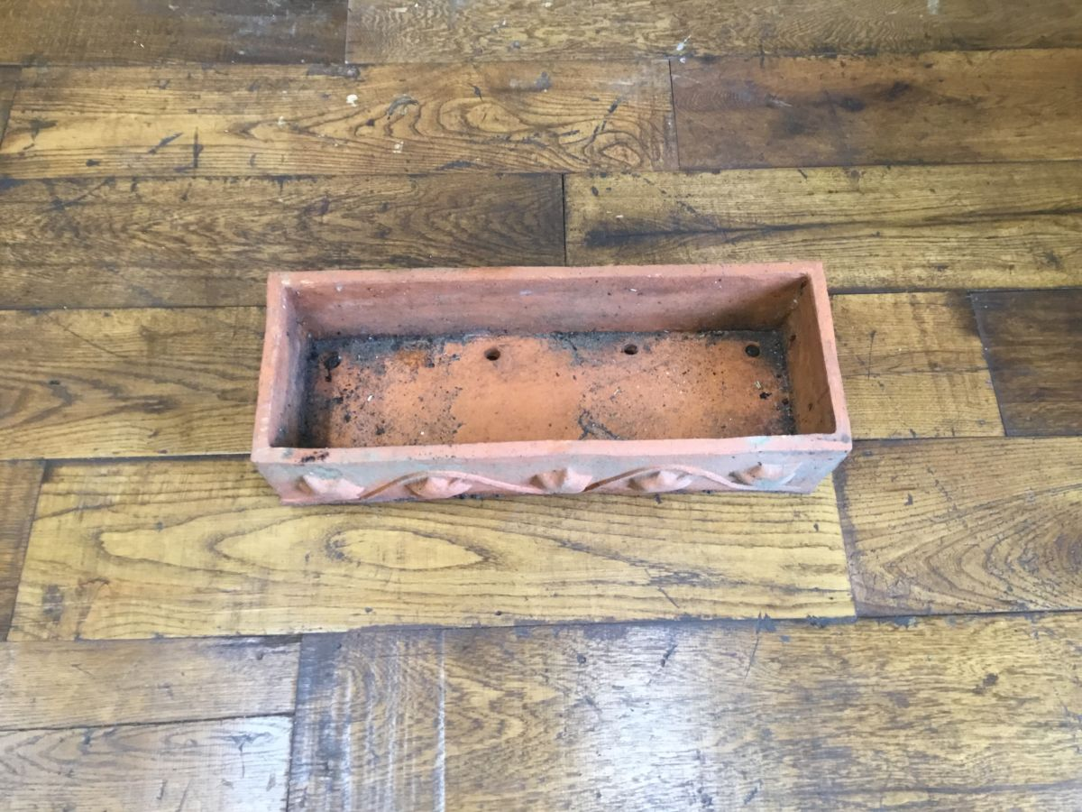 Long Terracotta Planter